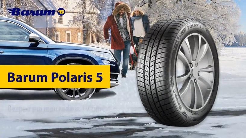 Ziemas riepa Barum Polaris 5, 205/55 R16 91 T