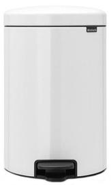 Brabantia NewIcon atkritumu tvertne, 20 l, White