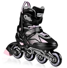 Skrituļslidas Spokey Speed Pro, rozā, 33-36