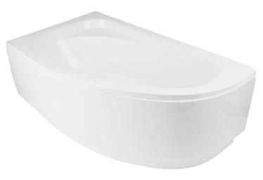 Besco Piramida Cornea Bath Panel Left White 140x54cm