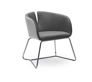 Atzveltnes krēsls Halmar Pivot Grey/White, 63x62x74 cm