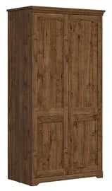 Black Red White Paras Wardrobe April Oak