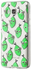 Mocco Cartoon Eyes Lemon Back Case For Apple iPhone 7/8 Transparent/Green