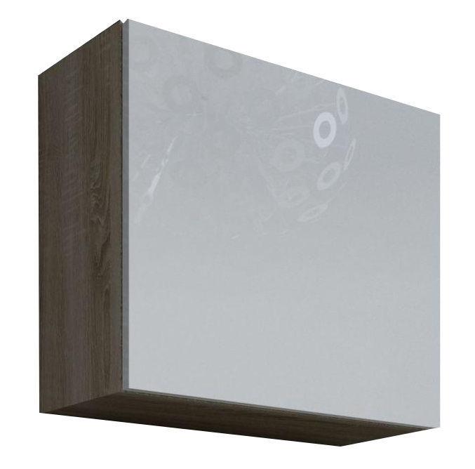Cama Meble Vigo Square Cabinet Sonoma Oak/White Gloss