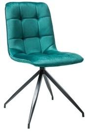 Ēdamistabas krēsls Signal Meble Texo Green, 1 gab.