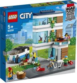 KONSTRUKT. LEGO CITY ĢIMENES MĀJA 60291