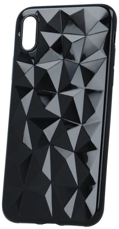 Mocco Trendy Diamonds Back Case For Samsung Galaxy S10 Plus Black
