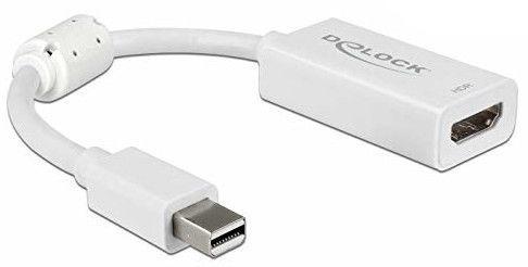 Delock Adapter Mini Displayport 1.4 to HDMI White