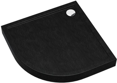 Vento Shower Tray 900x120x900mm Black
