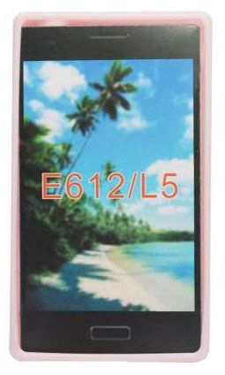 Forcell Jelly Back Case for LG Optimus L5 E610 Pink