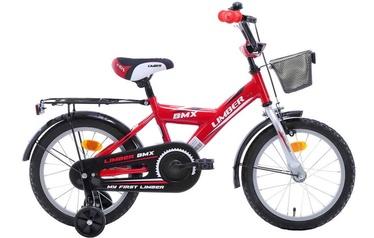 """Детский велосипед Limber Monteria 20'', белый/черный/красный, 20"""", 20″"""