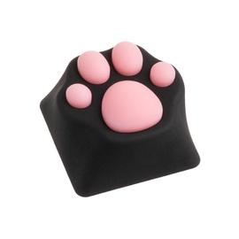 Taustiņu vāks Zomoplus Kitty Paw ABS Keycap Black/Pink