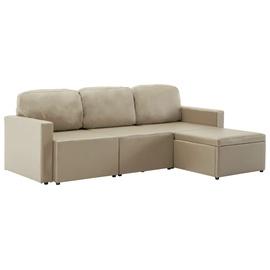 Dīvāngulta VLX 3-Seated 288800, gaiši brūna, 216 x 149 x 72 cm