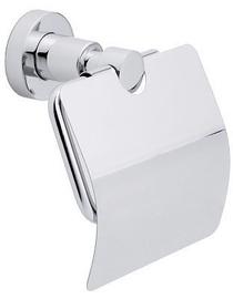 Держатель туалетной бумаги Tesa Loxx Moder Toilet Roll Holder With Lid Chromed Metal 40273
