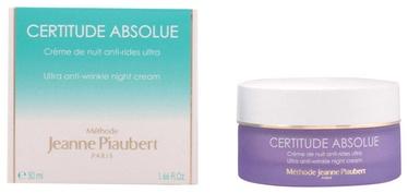 Sejas krēms Jeanne Piaubert Certitude Absolue Ultra Anti Wrinkle Night Cream, 50 ml