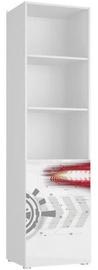 Tuckano Spaceship 04 Shelf Unit 550x2010x550mm White