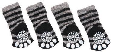 Karlie Flamingo Doggy Socks L Black/Grey