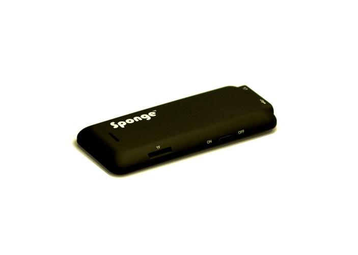 Mūzikas atskaņotājs Sponge Melody Black/Blue, 8 GB