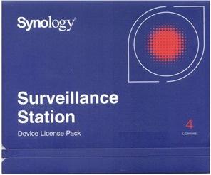 Licence Synology Surveillance Station 4 Cameras