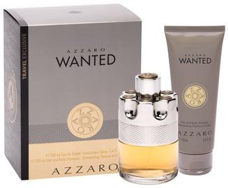 Komplekts vīriešiem Azzaro Wanted 100 ml EDT + Hair & Body Shampoo 100 ml