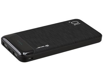Uzlādēšanas ierīce – akumulators (Power bank) Tracer TRABAT46802, 10000 mAh, melna