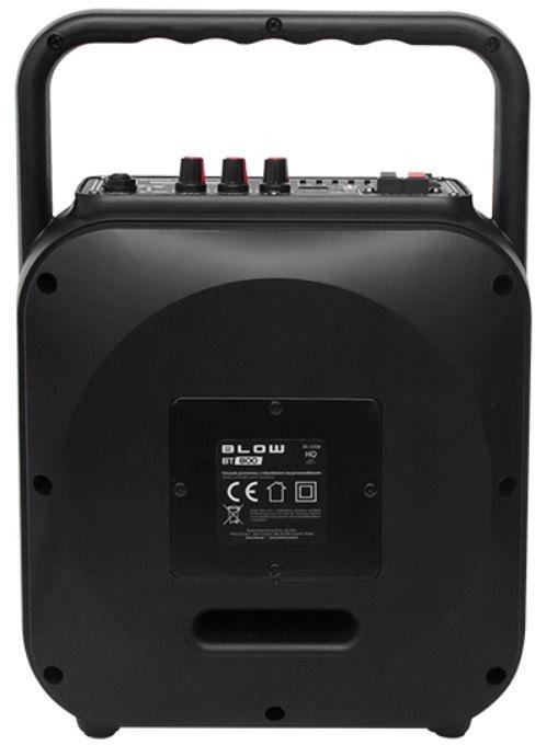 Bezvadu skaļrunis Blow BT-800, melna, 100 W