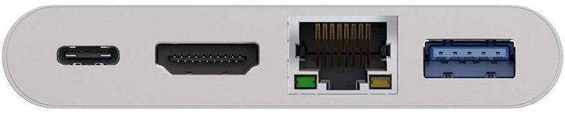 Goobay USB-C MultiPort Adapter HDMI/Ethernet