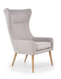 Atzveltnes krēsls Halmar Favaro 2 Light Grey, 81x71x106 cm