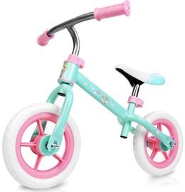 Балансирующий велосипед Spokey Elfic My Little Pony, зеленый/розовый, 10.8″