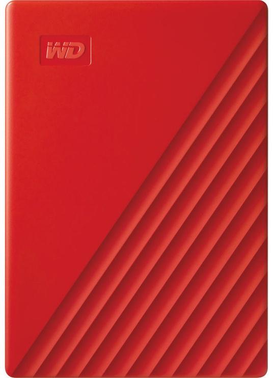 "Western Digital 2TB My Passport USB 3.2 2.5"" Red"