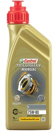 Transmisijas eļļa Castrol Transmax Manual V 75W - 80, transmisijas, vieglajam auto, 1 l