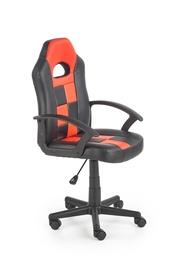 Halmar Storm Chair Black/Red