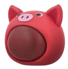 Bezvadu skaļrunis Forever ABS-100 Rose Red, 3 W