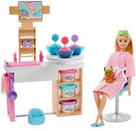 Кукла Mattel Barbie Face Mask Spa Day Playset GJR84