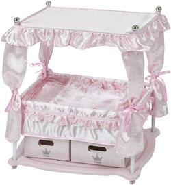 Hauck Princess Doll Bed Pink D90416