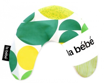 La Bebe Mimi Nursing Cotton Pillow Geometry Green 3309