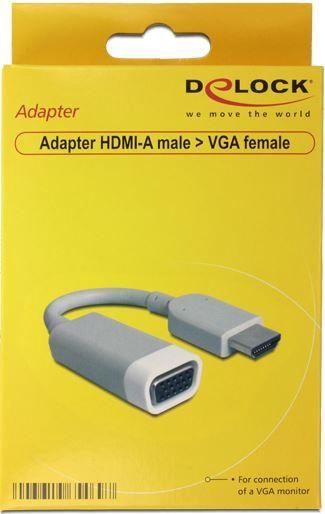 Delock Adapter HDMI-A to VGA 0.15m
