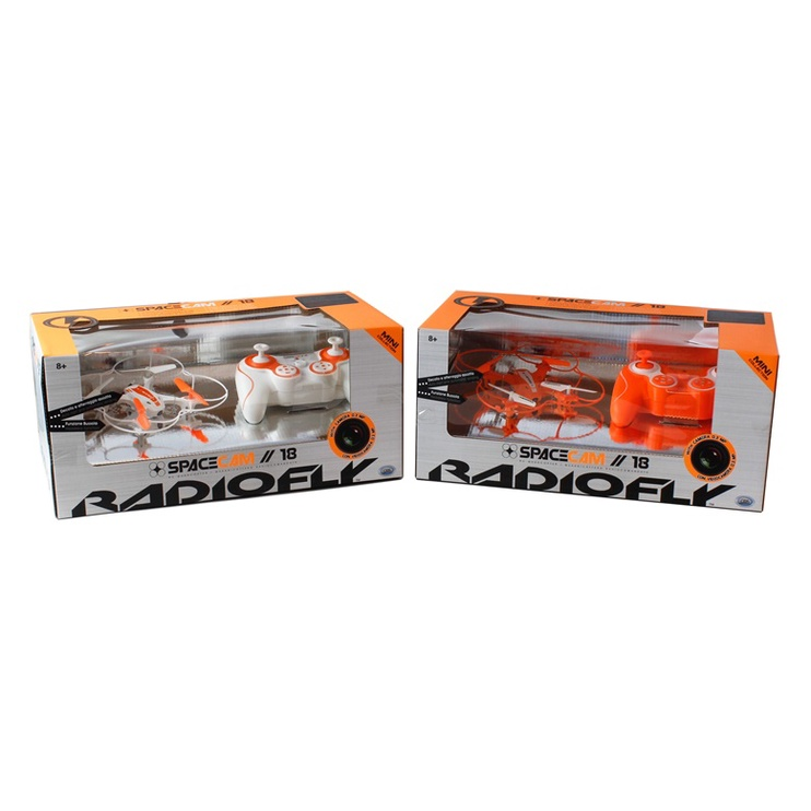 Rotaļu drons Radiofly Space Cam 18 37966