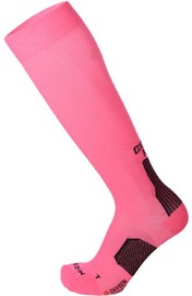 Mico Long Running Socks Light Oxi Jet Pink/Black 41-43