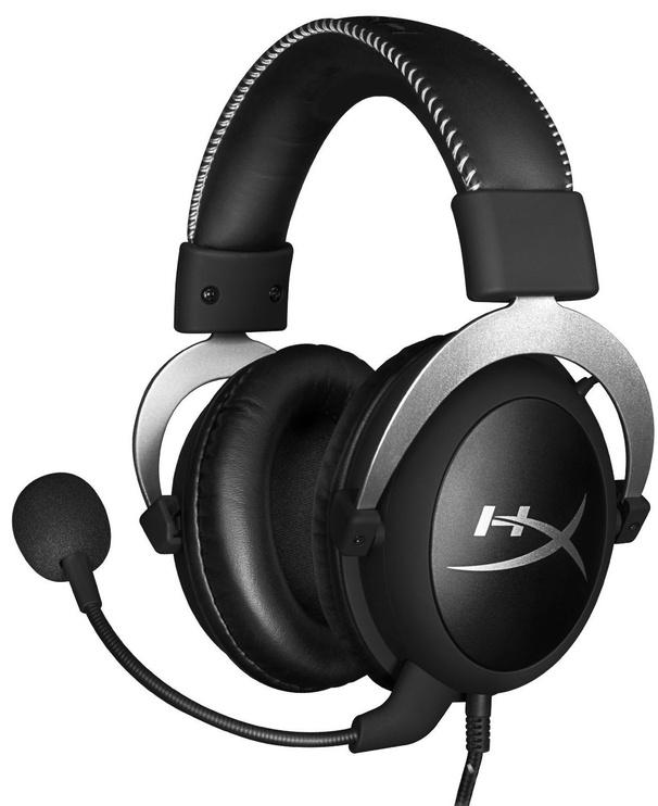 Spēļu austiņas Kingston HyperX Cloud Pro Black/Silver