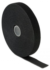 Delock Cable Ties Roll 10m x 20mm Black