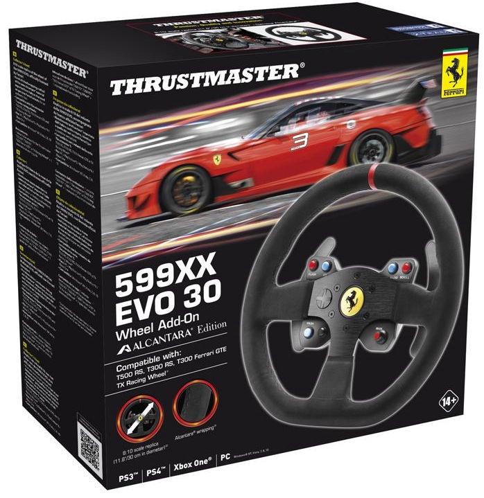 Thrustmaster EVO 30 Wheel Add-On Alcantara Edition