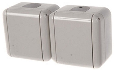 REML 229217000 Double Socket Gray
