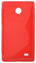 Telone Back Case S-Case for Nokia X / Dual Sim Coral