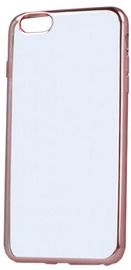 Telone Super Thin Silicone Back Case For Huawei P Smart Transparent/Rose Gold