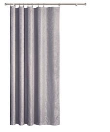 Nakts priekškars Wisan X428 69, pelēka, 1800x2500 mm