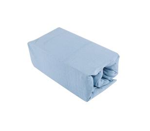 Palags Okko 125GSM Light Blue, 160x200 cm, ar gumiju