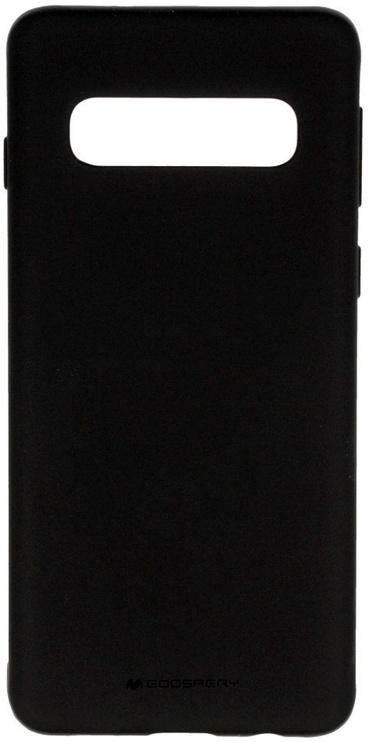 Mercury Soft Surface Matte Back Case For Samsung Galaxy S10e Black