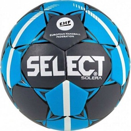Select Solera Senior 3 Official EHF Ball 16051 Grey/Blue Size 3