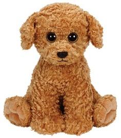 Mīkstā rotaļlieta TY Classic Dog Luke Brown, 33 cm